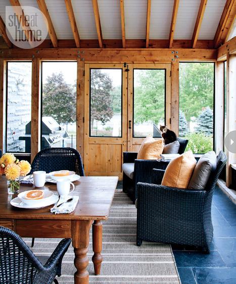 Une ferme moderne aux espaces ouverts | | PLANETE DECO a homes worldPLANETE DECO a homes world | Immobilier | Scoop.it