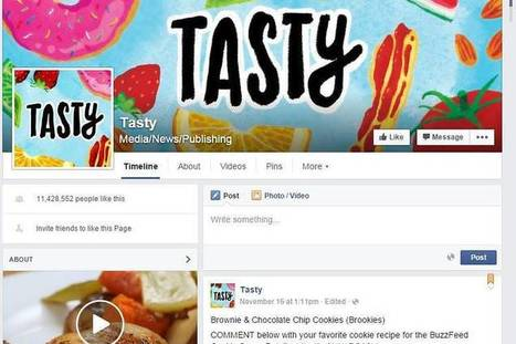 Food Videos Rule on Facebook | SocialMediaRestaurants.com | Scoop.it