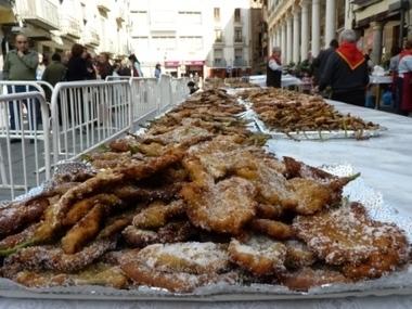 Fiesta del crespillo de borraja en Barbastro | Fiestas en Aragón | Scoop.it