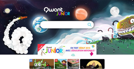 Qwant conçoit un moteur de recherche filtré pour les jeunes enfants | Libertés Numériques | Scoop.it