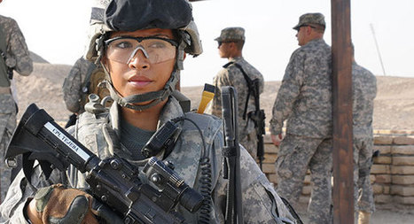 """Don't glamorize women in combat roles"" 