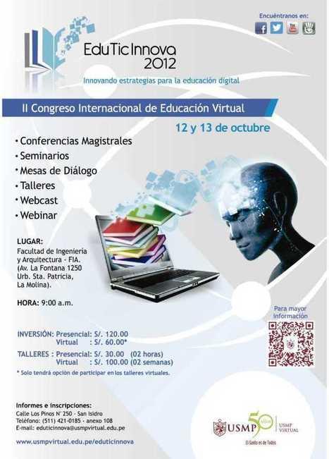 USMP - EduTicInnova 2012 - RedDOLAC - Red de Docentes de América Latina y del Caribe - | TIC JSL | Scoop.it