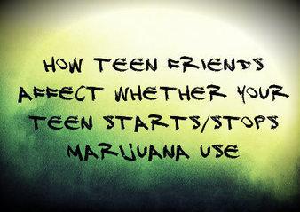 Teen Friend's Affect Whether They Stop Marijuana ... | parts of speech | Scoop.it