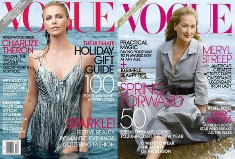 Vogue US en ligne: 120 ans d'histoire en un gros clic | Libération | le support média magazine de mode | Scoop.it