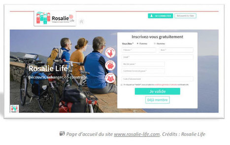 Rosalie Life : réseau social seniors | Community management | Scoop.it
