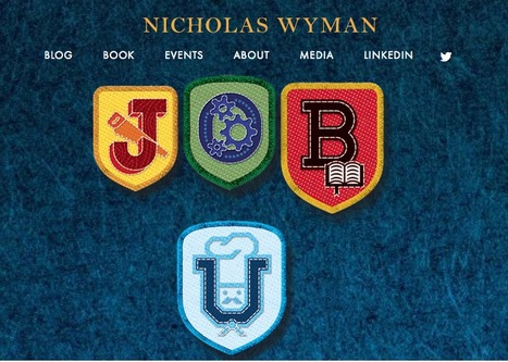 JOB U - A New and Important Book - by Nicholas Wyman | Manufacturing In the USA Today | Scoop.it