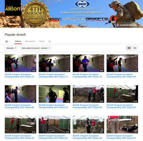 Airsoft Surgeon Euro Championship Videos | Popular Airsoft | Airsoft Showoffs | Scoop.it