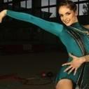 Cynthia Valdez regresa 'bañada' de oro de Las Vegas