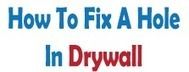 DIY Resources | How to Fix a Hole in Drywall - Fixing Holes in Drywall | Home Repair | Scoop.it