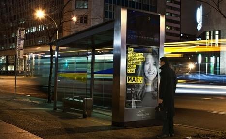 Québecor média annonce des abribus numériques interactifs à reconnaissance gestuelle pour Montréal | Les médias face à leur destin | Scoop.it