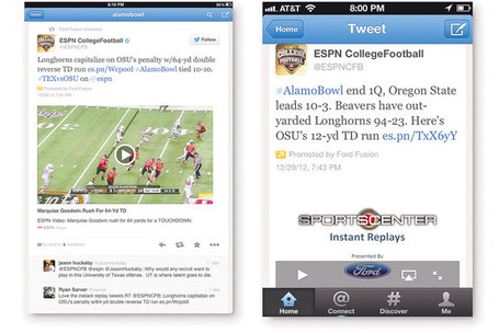 ESPN and Twitter extend collaboration | Broadcast Sport | Scoop.it