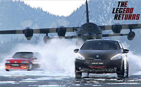 Peugeot revisite la pub de la 205 GTi pour sa 208 GTi   Publicité - Advertising   Scoop.it