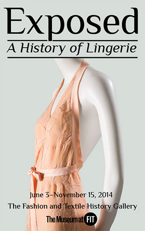 FIT - Fashion Institute of Technology | Exposed: A History of Lingerie | design exhibitions | Scoop.it