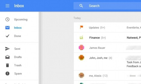 Get ready for the new look Gmail: Screenshots hint Google is revamping the ... - Daily Mail | Webdesign | Scoop.it