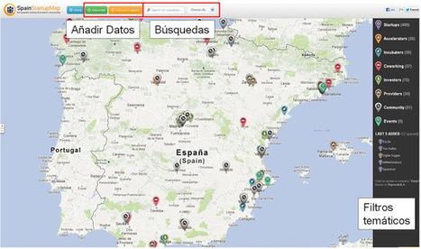 Geoinformación: Directorio de compañías startups españolas en Google Maps | #GoogleMaps | Scoop.it