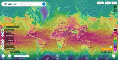 This is how every weather forecast map should look like - Geoawesomeness | Everything is related to everything else | Scoop.it