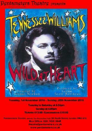 London Life Review: Tennessee Williams @ Pentameters Theatre Hampstead   London Life   Scoop.it