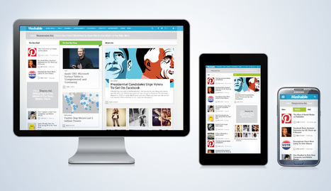 Introducing the New Mashable: Social, Mobile, Visual | Web Content Enjoyneering | Scoop.it