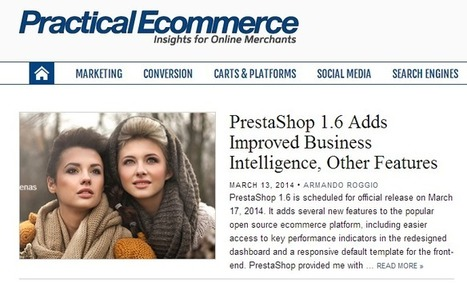 PrestaShop 1.6. Le e-commerce intelligent | CMS, Système de gestion de contenu | Scoop.it