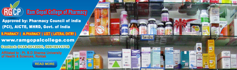 M.Pharmacy Admission College Delhi NCR| Master in Pharmacy Admission Open Haryana | Ram Gopal College of Pharmacy in delhi Ncr | Scoop.it