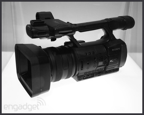 engadget: Sony's 4K Handycam and HXR-IFR5 4K Interface Unit prototypes eyes-on | Foresight Research Irregular | Scoop.it