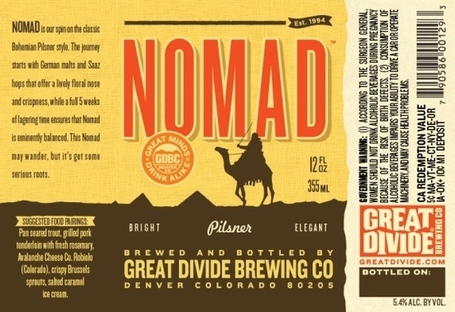 Great Divide Brewing mixes things up, releases Nomad, a pilsner, in the winter - Denver Restaurants and Dining - Cafe Society | CraftBeer | Scoop.it