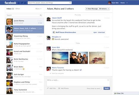 Nya Facebook meddelanden - mer som epost | Facebookskolan | Folkbildning på nätet | Scoop.it