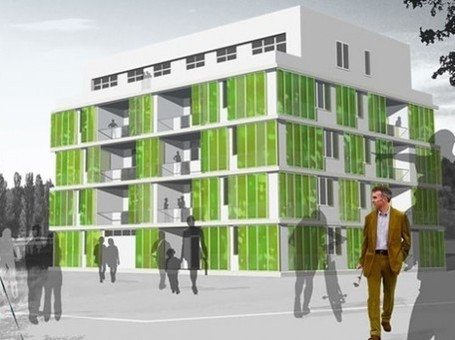 the First Algae-Powered Building in the world Grows in Germany | T sost | Scoop.it