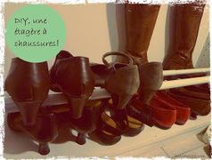 Initiales GG ... : DIY : une étagère à chaussures sur mesure! | DIY DIY | Scoop.it