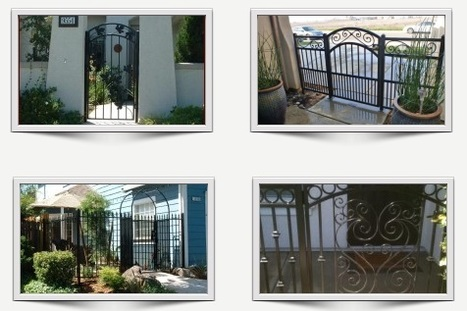 Iron Gates and Fences – Quality Guaranteed | Ornamental Iron | Wrought iron fencing | Driveway gate | Scoop.it