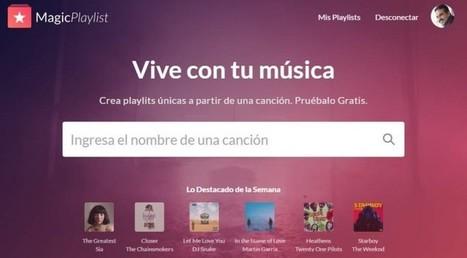 magicplaylist, creando listas de música en Spotify en pocos segundos   Bits on   Scoop.it