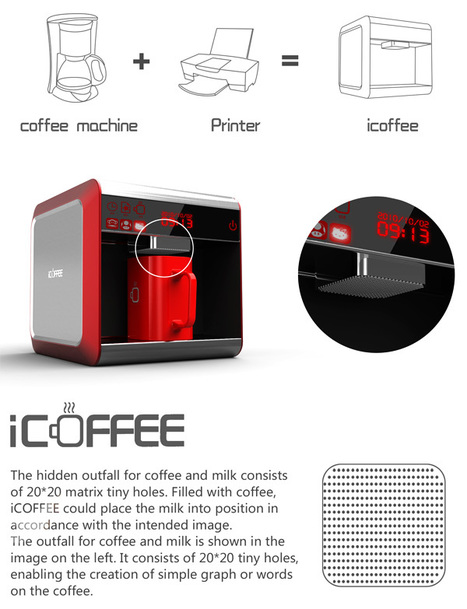 iCoffee – Coffee Machine by Huang Guanglei   Art, Design & Technology   Scoop.it