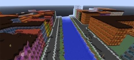 El gobierno de Dinamarca recrea todo el país en Minecraft | tecnología industrial | Scoop.it