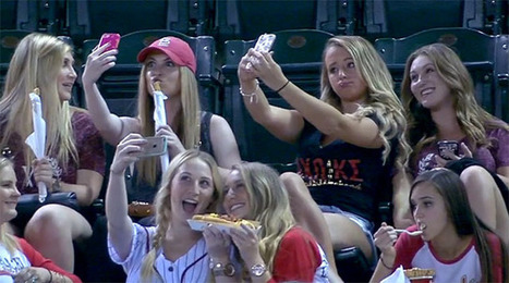 Baseball Announcers Roast Sorority Girls Over Selfies | INTRODUCTION TO THE SOCIAL SCIENCES DIGITAL TEXTBOOK(PSYCHOLOGY-ECONOMICS-SOCIOLOGY):MIKE BUSARELLO | Scoop.it