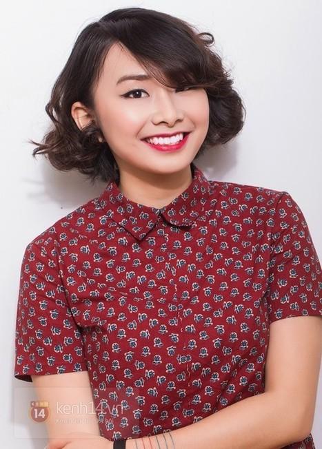 Hướng dẫn làm 2 kiểu tóc hè cho cô bạn mặt tròn, tóc ngắn | vantai123.com | Scoop.it