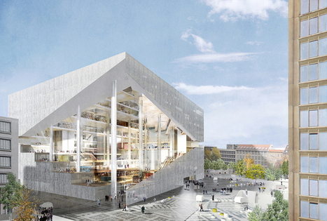 OMA, BIG + Ole Scheeren make final cut for Axel Springer HQ - designboom | architecture & design magazine | The Architecture of the City | Scoop.it