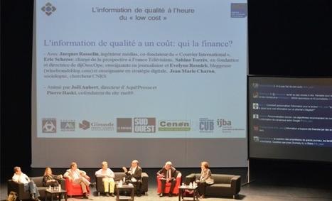 La presse, à la recherche d'un modèle économique sur le Web | My global Bordeaux | Scoop.it