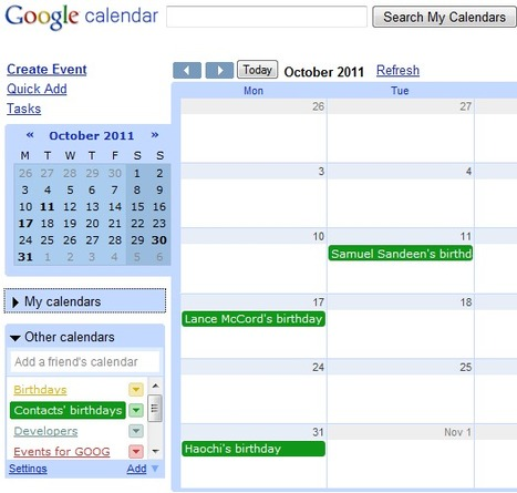 Remove Birthdays from Google Calendar | ifixscreens | Scoop.it