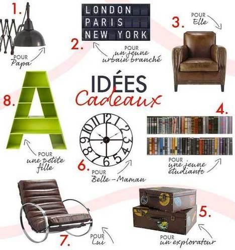 Idées cadeaux, le style industriel | Mobilier et objets industriels | Scoop.it