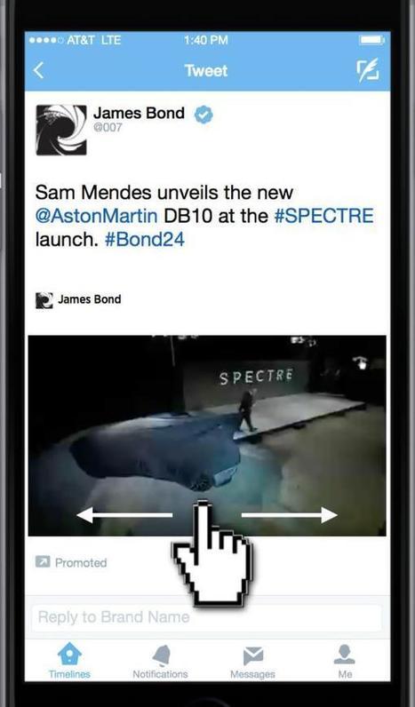 Les nouveaux formats publicitaires de Twitter décryptés | Publicite | Scoop.it