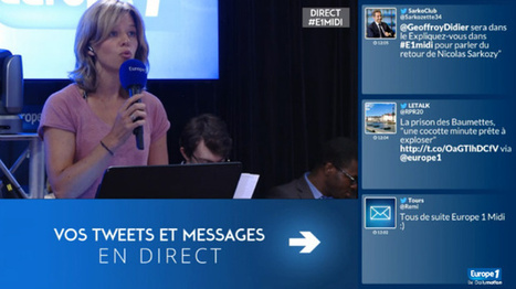 Relation entre Social Radio et Social TV : interview d'Emmanuelle Patry d'Europe 1 | second screen | Scoop.it