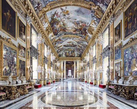 Exquisite Interior Photos Highlight the Beauty of Italy's Opulent Architecture | Le It e Amo ✪ | Scoop.it
