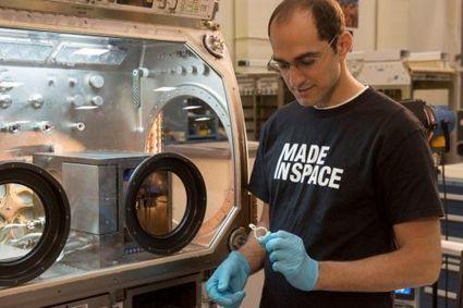 La Nasa travaille sur l'impression 3D en apesanteur pour l'ISS | La veille techno de Tookle | Scoop.it