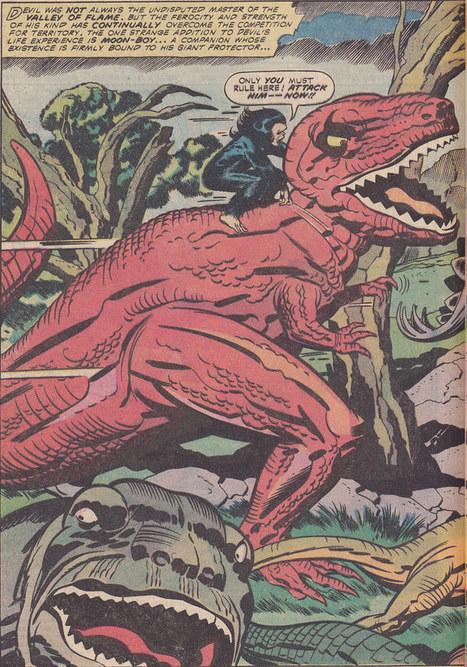 "Devil Dinosaur 1 / page 2 | Jack ""King"" Kirby | Scoop.it"
