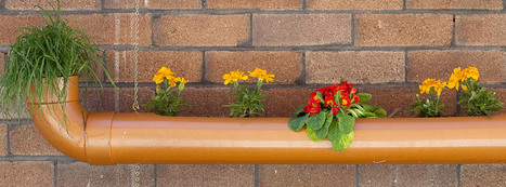 How To Make Hanging Pipe Planters | Landscape Creative Inspiration | Scoop.it