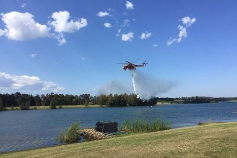 New water bombing aircraft added to NSW's firefighting arsenal - ABC Online | Fire prevention with grasses | Scoop.it