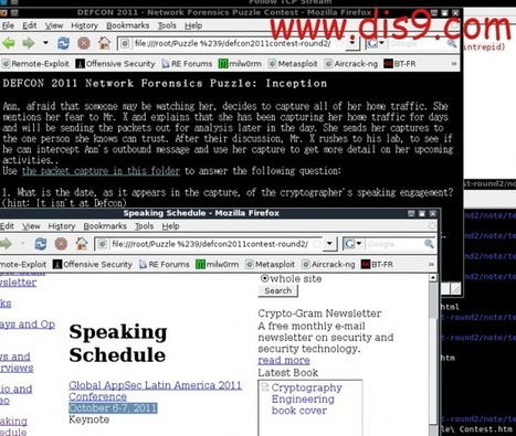 DEFCON2011 – Network Forensics Puzzle2 | H4x0r5 Playground | Scoop.it