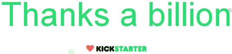 Crowdfunding : la France contribue peu au phénomène Kickstarter | Innovation, e-culture, e-commerce | Scoop.it