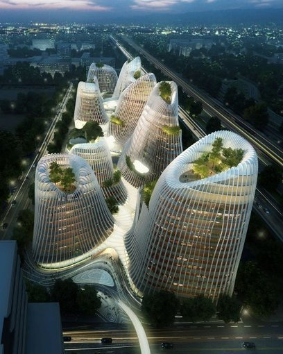 Made in China: The Green FUTURISM of Architect Ma Yansong | the switch corner | Scoop.it