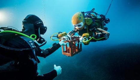 This robot 'mermaid' grabs shipwreck treasures - Futurity | MishMash | Scoop.it